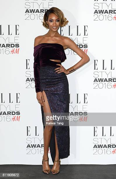 Jourdan Dunn attends The Elle Style Awards 2016 on February 23 2016 in London England