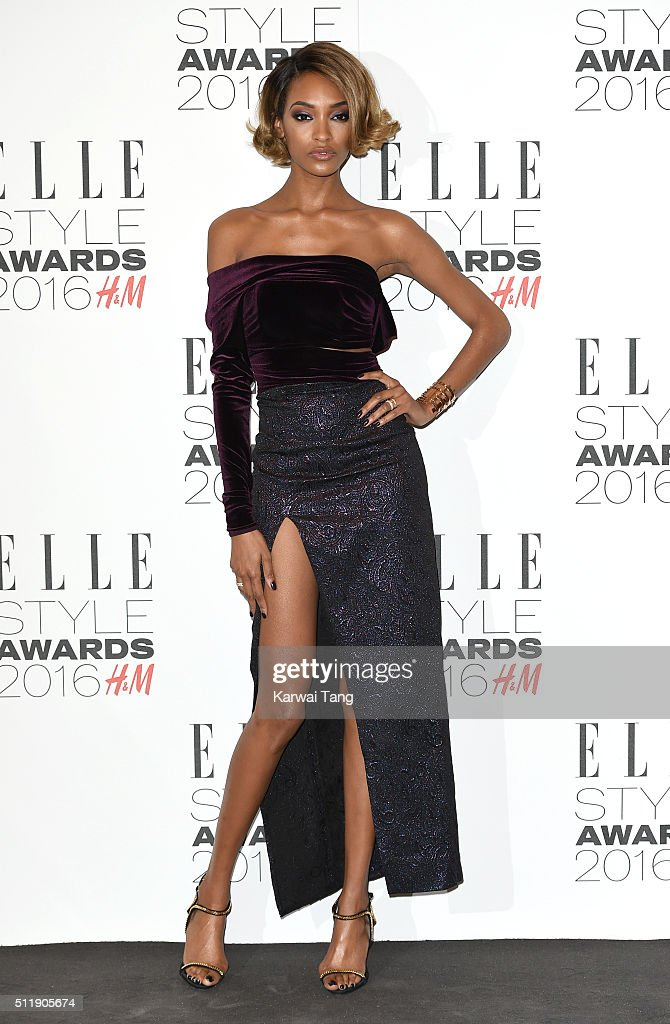 Jourdan Dunn attends The Elle Style Awards 2016 on February 23 2016 in London England