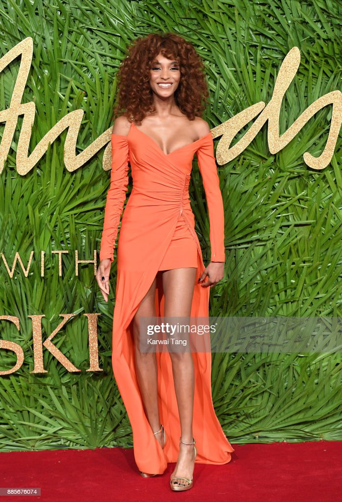 Jourdan Dunn attends The Fashion Awards 2017 in partnership with Swarovski at Royal Albert Hall on December 4, 2017 in London, England.