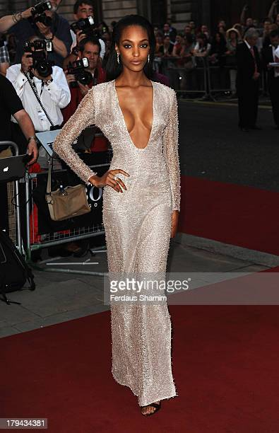 Jourdan Dunn attends the GQ Men of the Year awards at The Royal Opera House on September 3 2013 in London England