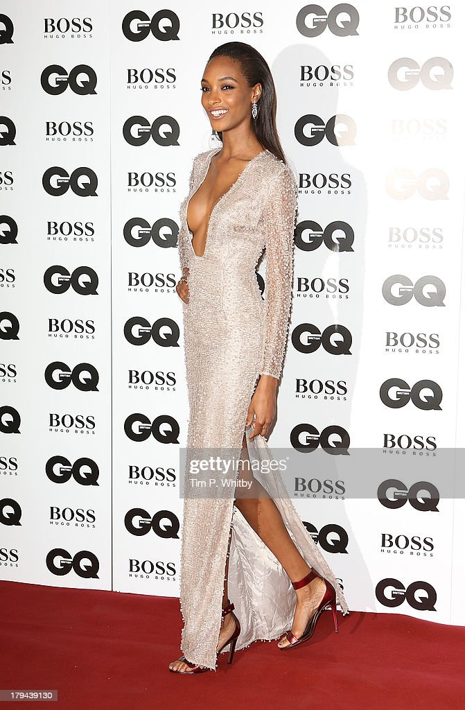 Jourdan Dunn attends the GQ Men of the Year awards at The Royal Opera House on September 3, 2013 in London, England.