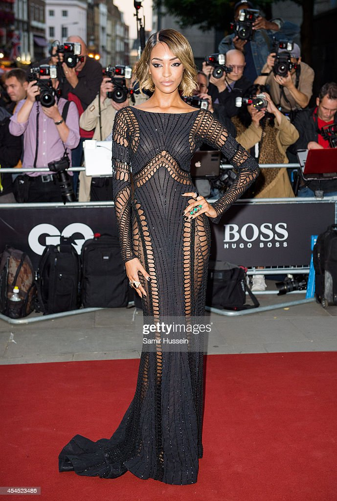Jourdan Dunn attends the GQ Men of the Year awards at The Royal Opera House on September 2, 2014 in London, England.