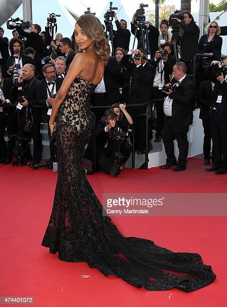 Jourdan Dunn attends the 'Little Prince' Premiere during the 68th annual Cannes Film Festival on May 22 2015 in Cannes France