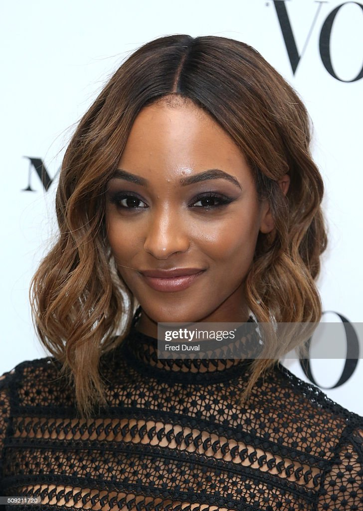 <a gi-track='captionPersonalityLinkClicked' href=/galleries/search?phrase=Jourdan+Dunn&family=editorial&specificpeople=4347612 ng-click='$event.stopPropagation()'>Jourdan Dunn</a> attends the opening of Vogue 100 : A century of Style at National Portrait Gallery on February 9, 2016 in London, England.