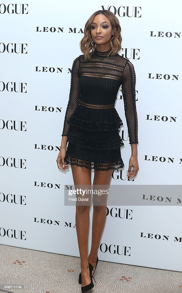 <a gi-track='captionPersonalityLinkClicked' href=/galleries/search?phrase=Jourdan+Dunn&family=editorial&specificpeople=4347612 ng-click='$event.stopPropagation()'>Jourdan Dunn</a> attends the opening of Vogue100 : A century of Style at National Portrait Gallery on February 9, 2016 in London, England.