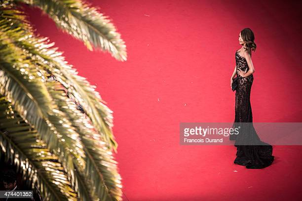 Jourdan Dunn attends the Premiere of 'The Little Prince' during the 68th annual Cannes Film Festival on May 22 2015 in Cannes France