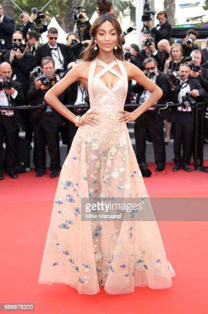 Jourdan Dunn attends the 'The Killing Of A Sacred Deer' screening during the 70th annual Cannes Film Festival at Palais des Festivals on May 22 2017...