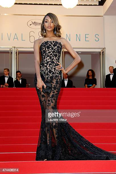 Jourdan Dunn attends the 'The Little Prince' premiere during the 68th annual Cannes Film Festival on May 22 2015 in Cannes France