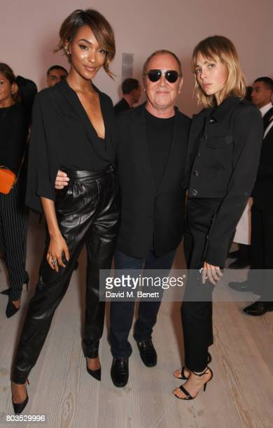 Jourdan Dunn Michael Kors and Edie Campbell attend Tatler's English Roses 2017 in association with Michael Kors at the Saatchi Gallery on June 29...