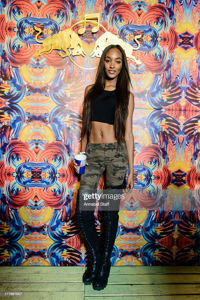 <a gi-track='captionPersonalityLinkClicked' href=/galleries/search?phrase=Jourdan+Dunn&family=editorial&specificpeople=4347612 ng-click='$event.stopPropagation()'>Jourdan Dunn</a> poses for a portrait at the Red Bull Music Academy Sound System at Notting Hill Carnival at Notting Hill on August 26, 2013 in London, England.