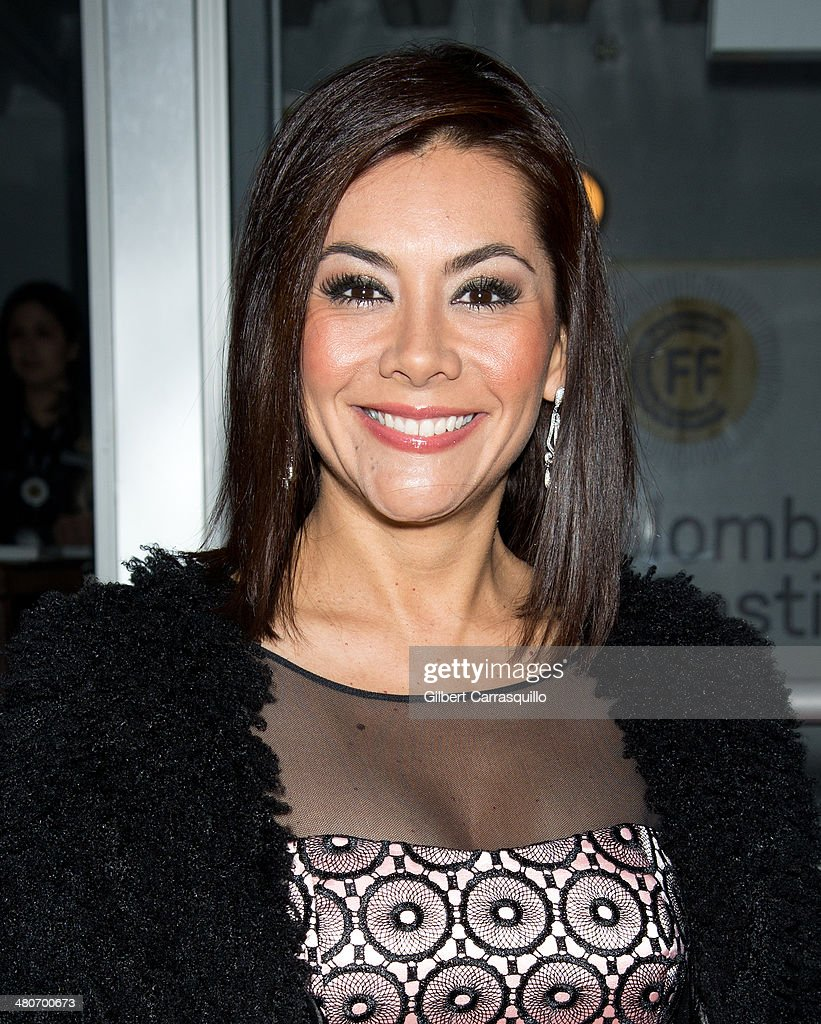 Journalist Adriana Vargas attends the opening night of the 2nd annual Colombian International Film Festival at Tribeca Cinemas on March 26, 2014 in New York City.