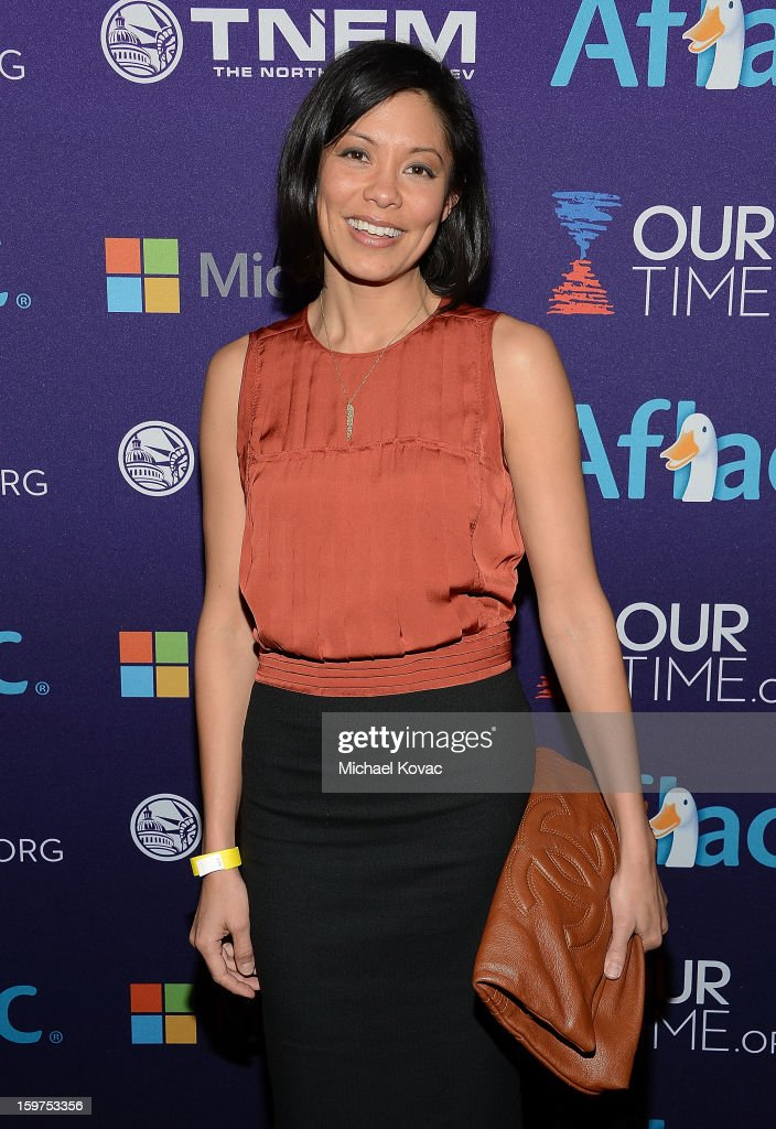 Journalist Alex Wagner attends the Inaugural Youth Ball hosted by OurTime.org at Donald W. Reynolds Center on January 19, 2013 in Washington, United States.