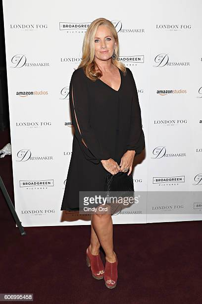 Journalist Alex Witt attends as London Fog presents a New York special screening of 'The Dressmaker' on September 16 2016 in New York City