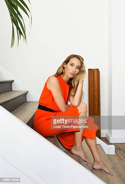 Journalist Alexandra Golovanoff is photographed for Madame Figaro on July 10 2015 in Paris France CREDIT MUST READ Louis Teran/Figarophoto/Contour by...