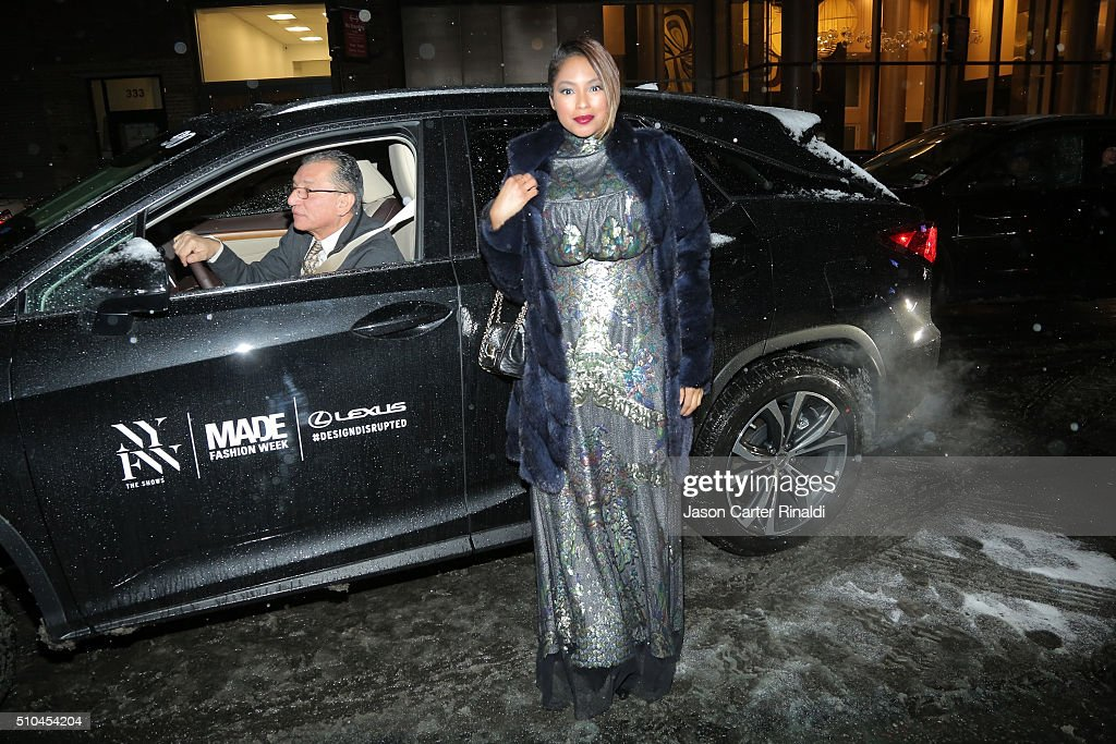 Lexus at Vivienne Tam Fall 2016 New York Fashion Week