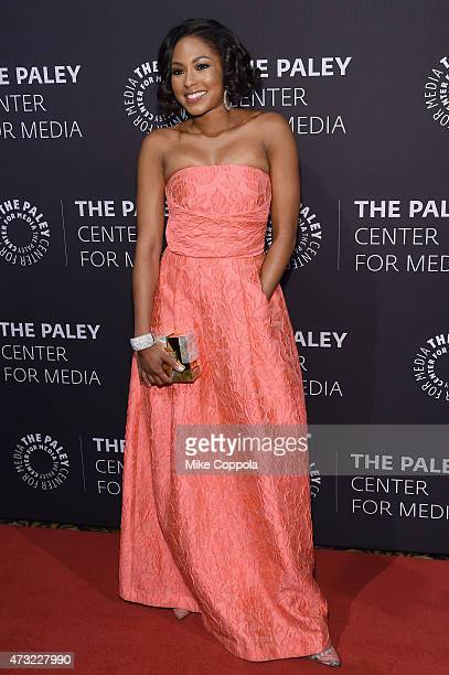 Journalist Alicia Quarles attends A Tribute To AfricanAmerican Achievements In Television hosted by The Paley Center For Media at Cipriani Wall...