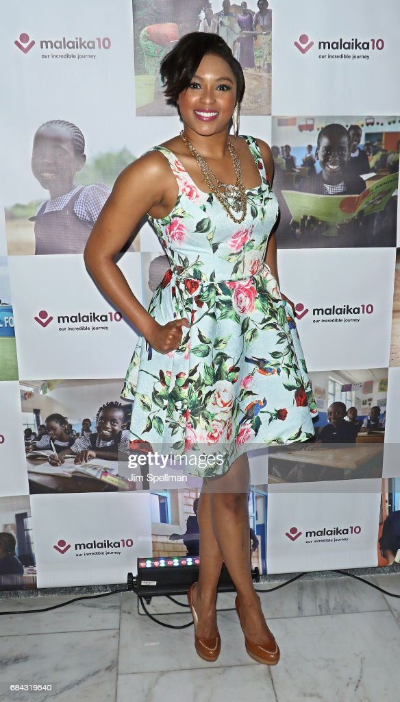 Journalist Alicia Quarles attends Malaika10 at Espace on May 17, 2017 in New York City.