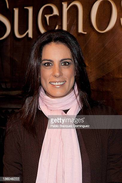 Journalist Alicia Senovilla attends 'La Fabrica de los Suenos' at Neptuno Palace on December 17 2011 in Madrid Spain
