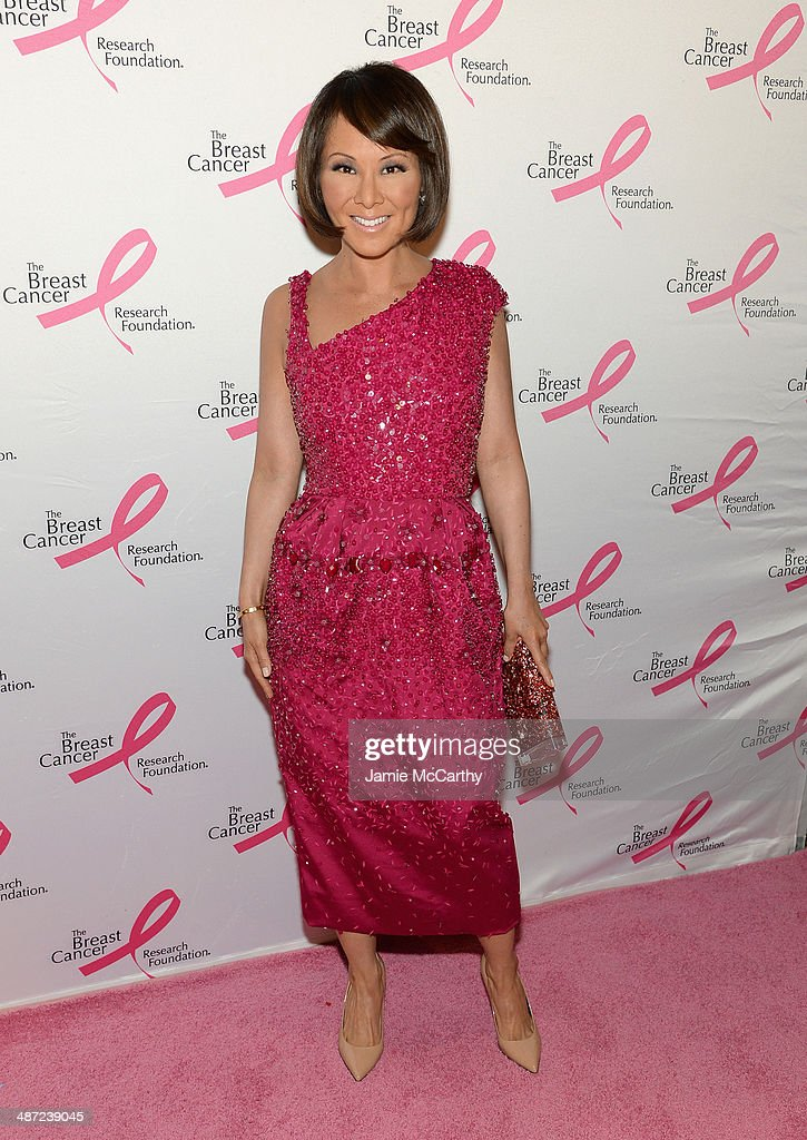 Journalist Alina Cho attends The Breast Cancer Foundation's 2014 Hot Pink Party at Waldorf Astoria Hotel on April 28, 2014 in New York City.