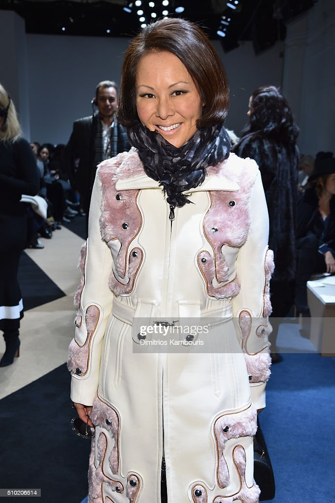 Journalist, Alina Cho, attends the Derek Lam Fall 2016 fashion show during New York Fashion Week: The Shows at The Gallery, Skylight at Clarkson Sq on February 14, 2016 in New York City.