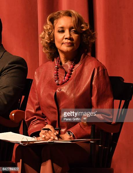 Journalist Amanda Davis attends Morehouse College 150th Anniversary 'Reflections of Excellence' at Ray Charles Performing Arts Center at Morehouse...