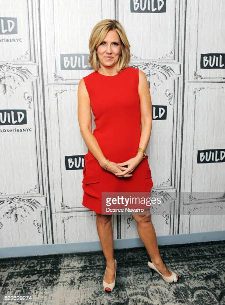 Journalist and author Alisyn Camerota attends Build to discuss her new book 'Amanda Wakes Up' at Build Studio on July 25 2017 in New York City