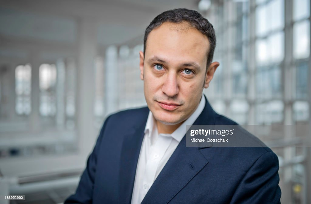 Journalist and author Daniel Dylan-Boehmer poses during a portrait session at the 2013 Frankfurt Book Fair on October 10, 2013 in Frankfurt, Germany. This year's fair will be open to the public from October 9-13 and the official partner nation is Brazil.