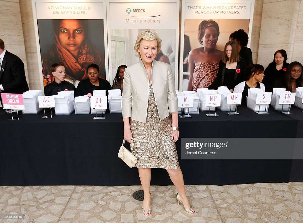 Journalist and author <a gi-track='captionPersonalityLinkClicked' href=/galleries/search?phrase=Tina+Brown+-+Journalist&family=editorial&specificpeople=209169 ng-click='$event.stopPropagation()'>Tina Brown</a> attends the 5th Annual Women In The World Summit at the David Koch Theatre at Lincoln Center on April 3, 2014 in New York City.