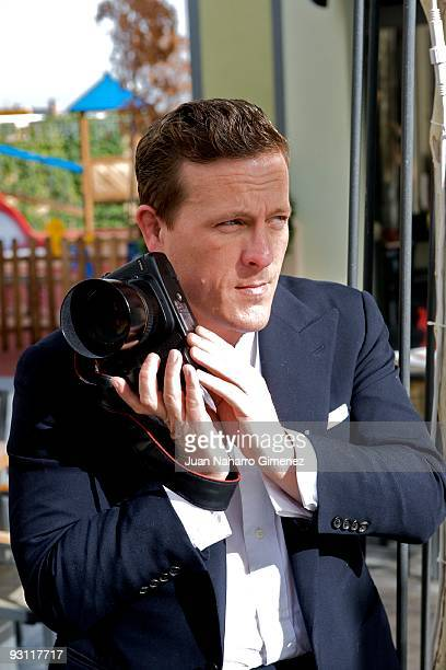 Journalist and blogger Scott Schuman attends a fashion meeting and signing event for his fashion blog 'The Sartorialist' on November 17 2009 in...