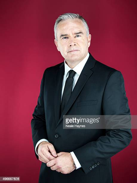 Journalist and broadcaster Huw Edwards is photographed for the Daily Mail on September 21 2015 in London England