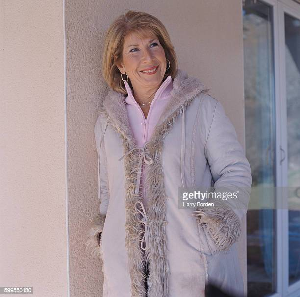 Journalist and broadcaster Jennie Bond is photographed for Saga magazine on February 7 2004 in Devon England