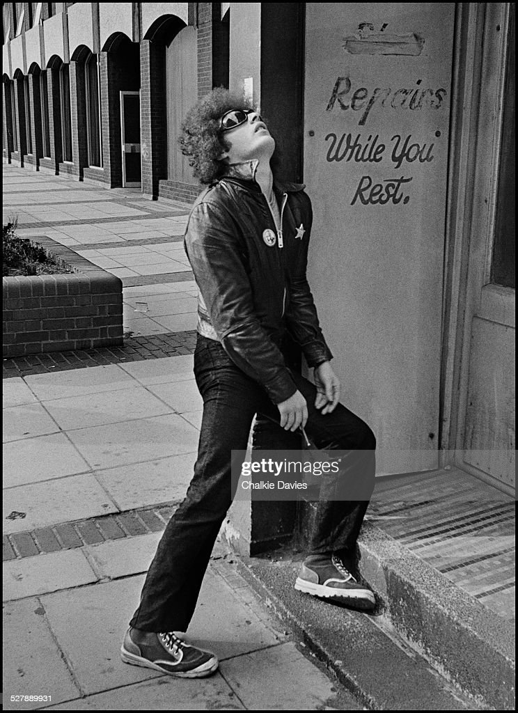NME journalist and critic Charles Shaar Murray London 1976