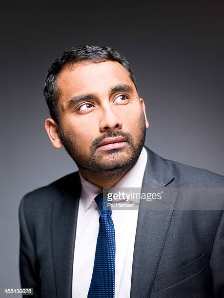 Journalist and editor of the Independent newspaper Amol Rajan is photographed for Professional Manager magazine on March 5 2014 in London England
