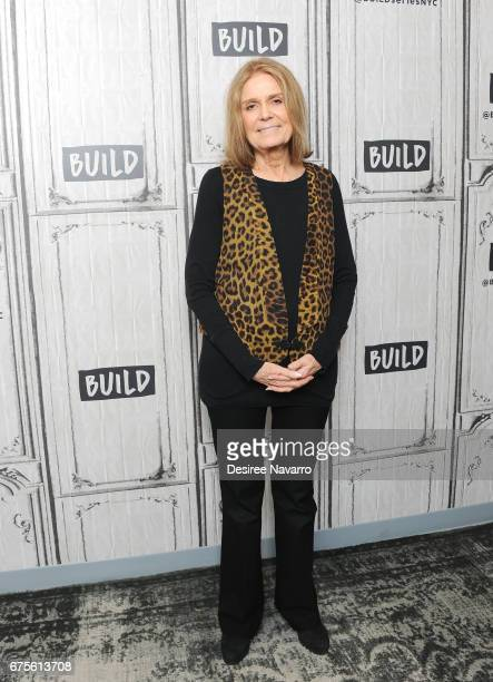 Journalist and feminist Gloria Steinem attends Build Series to discuss 'You Don't Look Your Age' at Build Studio on May 1 2017 in New York City