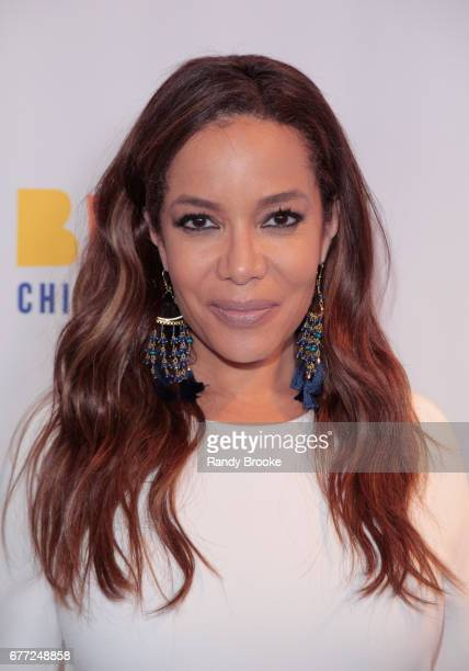 Journalist and Master of Ceremonies Sunny Hostin attends the 2017 The Bronx Children's Museum Gala at Tribeca Rooftop on May 2 2017 in New York City