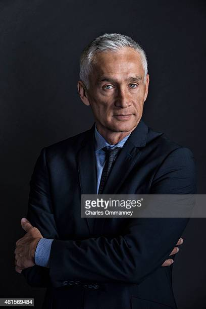 Journalist and news anchor Jorge Ramos photographed for Time Magazine on November 14 at the Univision Television Studios in Miami Florida