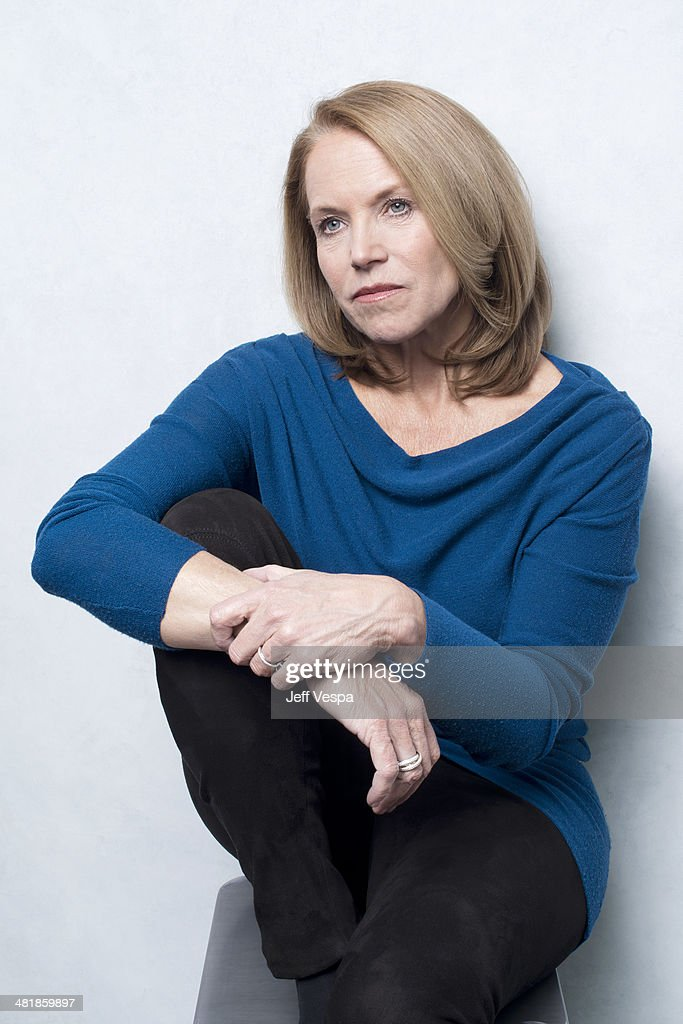 Journalist and TV Host <a gi-track='captionPersonalityLinkClicked' href=/galleries/search?phrase=Katie+Couric&family=editorial&specificpeople=202633 ng-click='$event.stopPropagation()'>Katie Couric</a> is photographed at the Sundance Film Festival 2014 for Self Assignment on January 25, 2014 in Park City, Utah.