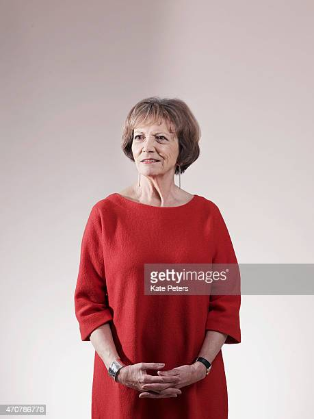 Journalist and tv presenter Joan Bakewell is photographed for the Guardian on January 27 2011 in London England