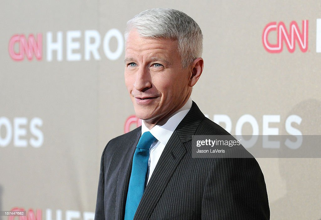 Journalist <a gi-track='captionPersonalityLinkClicked' href=/galleries/search?phrase=Anderson+Cooper&family=editorial&specificpeople=226776 ng-click='$event.stopPropagation()'>Anderson Cooper</a> attends CNN Heroes: An All-Star Tribute at The Shrine Auditorium on December 2, 2012 in Los Angeles, California.