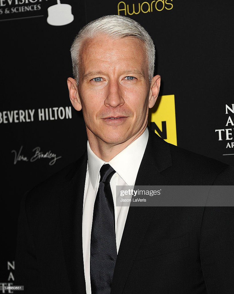 Journalist <a gi-track='captionPersonalityLinkClicked' href=/galleries/search?phrase=Anderson+Cooper&family=editorial&specificpeople=226776 ng-click='$event.stopPropagation()'>Anderson Cooper</a> attends the 39th annual Daytime Emmy Awards at The Beverly Hilton Hotel on June 23, 2012 in Beverly Hills, California.