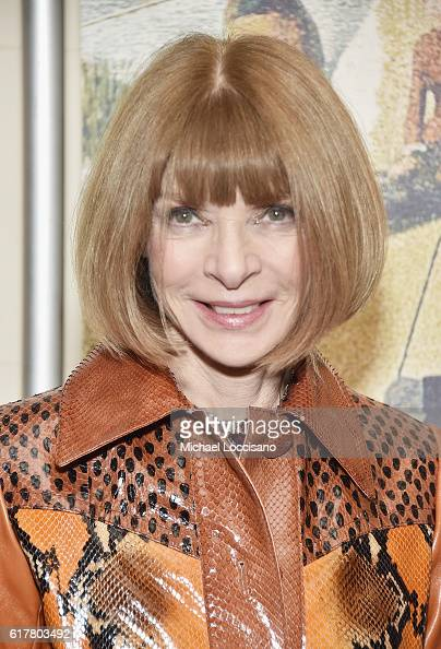 Journalist Anna Wintour attends the 2016 New York City Center Gala at New York City Center on October 24 2016 in New York City