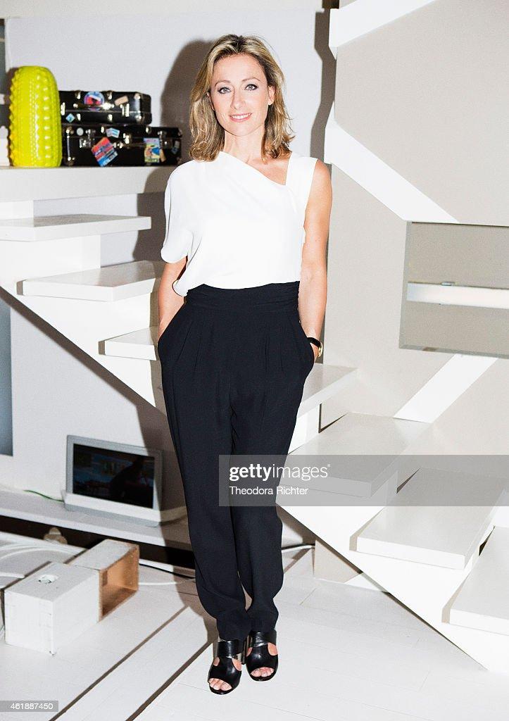 Anne Sophie Lapix, Madame Figaro, May 2014