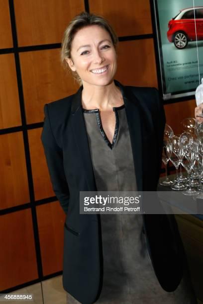 Journalist AnneSophie Lapix attends the 'Reves d'Enfants' Arop charity event at Opera Bastille on December 15 2013 in Paris France