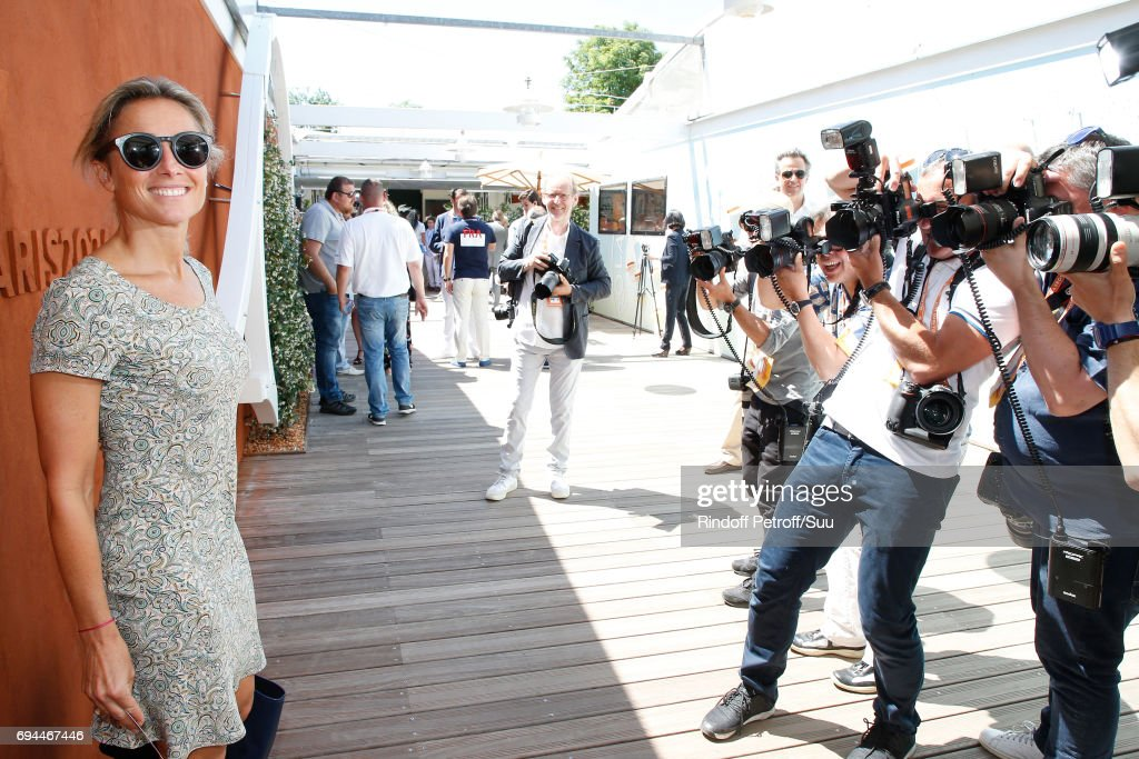 Celebrities At 2017 French Open - Day Fourteen