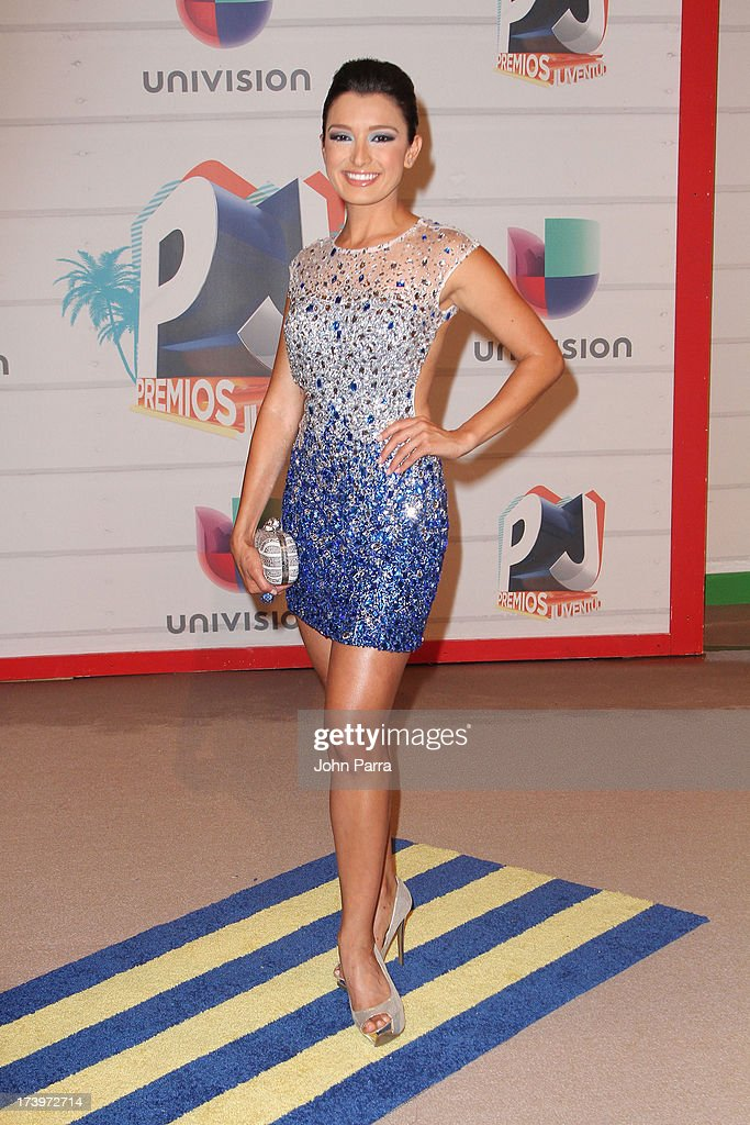 Journalist Antonieta Collins attends the Premios Juventud 2013 at Bank United Center on July 18, 2013 in Miami, Florida.