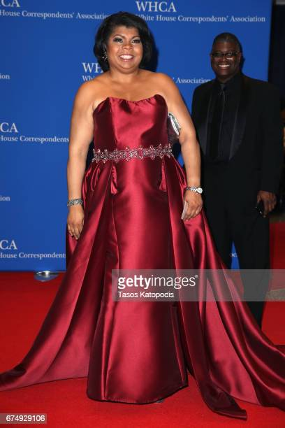 Journalist April Ryan attends the 2017 White House Correspondents' Association Dinner at Washington Hilton on April 29 2017 in Washington DC