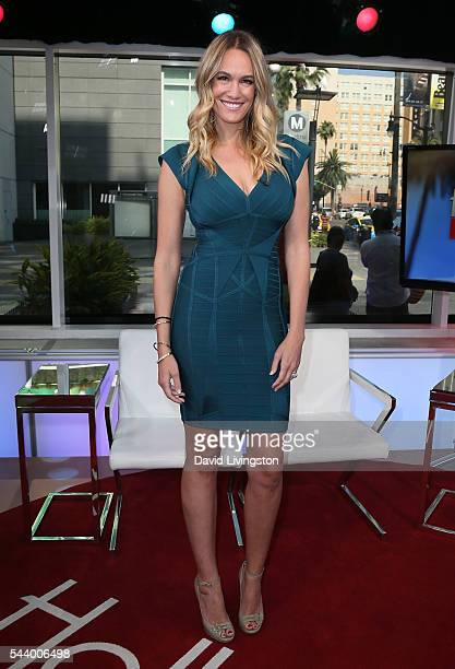 Journalist Ashlan Gorse visits Hollywood Today Live at W Hollywood on June 30 2016 in Hollywood California