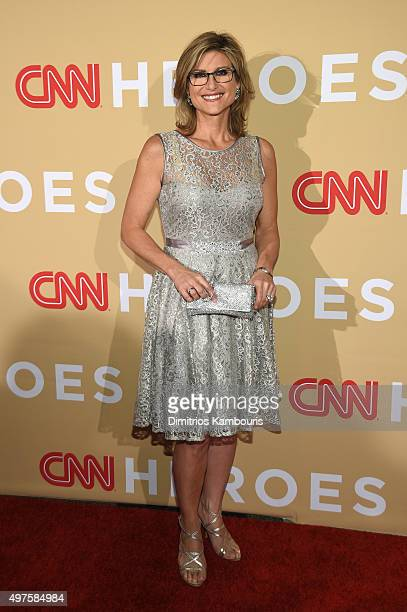 Journalist Ashleigh Banfield attends CNN Heroes 2015 Red Carpet Arrivals at American Museum of Natural History on November 17 2015 in New York City...