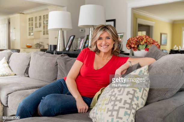 Journalist Ashleigh Banfield is photographed for Closer Weekly Magazine on March 4 2017 at home in Connecticut PUBLISHED IMAGE