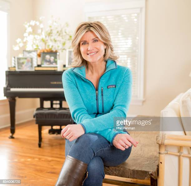 Journalist Ashleigh Banfield is photographed for Closer Weekly Magazine on March 4 2017 at home in Connecticut